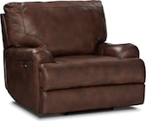 Living Room Furniture-Aldridge Power Recliner