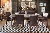 Dining Room Furniture-The Driscoll Brown Collection-Driscoll Table