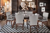 Dining Room Furniture-The Driscoll Gray Collection-Driscoll Table