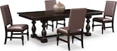 Dining Room Furniture-Juliette II 5 Pc. Dinette