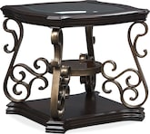Accent and Occasional Furniture-Arles End Table