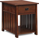 Accent and Occasional Furniture-Hardwick Cherry End Table