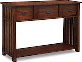 Accent and Occasional Furniture-Hardwick Cherry Sofa Table