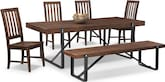 Dining Room Furniture-Bryce 6 Pc. Dinette
