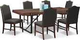 Dining Room Furniture-Bryce 7 Pc. Dinette
