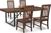 Dining Room Furniture-Bryce 5 Pc. Dinette