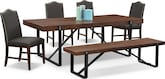 Dining Room Furniture-The Bryce Collection-Bryce Dining Table