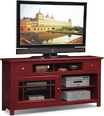 "Entertainment Furniture-Kittery Red 64"" TV Stand"