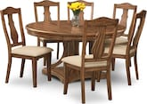 Dining Room Furniture-Whitaker 7 Pc. Dinette