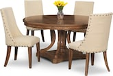 Dining Room Furniture-Whitaker 5 Pc. Dinette