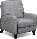 Living Room Furniture-Sisley Push-Back Recliner