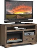 "Entertainment Furniture-Dalton 54"" Fireplace TV Stand"