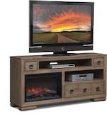 "Entertainment Furniture-Dalton 64"" Fireplace TV Stand"