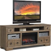 "Entertainment Furniture-Dalton 74"" Fireplace TV Stand"