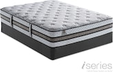 Mattresses and Bedding-Vantage Plush Queen Mattress/Foundation Set