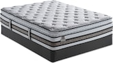 Mattresses and Bedding-iSeries Approval SPT Queen Mattress/Foundation Set