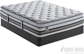 Mattresses and Bedding-Merit SPT Queen Mattress/Foundation Set