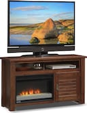 "Entertainment Furniture-Harrington 54"" Fireplace TV Stand"