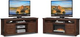 "Entertainment Furniture-The Harrington Collection-Harrington 74"" Fireplace TV Stand"