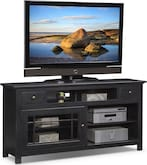 "Entertainment Furniture-Kittery Black 64"" TV Stand"