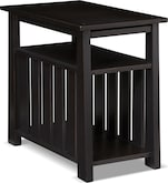 Accent and Occasional Furniture-Hardwick Black Chairside Table