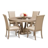 Dining Room Furniture-Calista 5 Pc. Dining Room