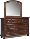 Bedroom Furniture-Copley Dresser & Mirror