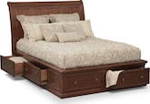 Bedroom Furniture-Copley King Storage Bed