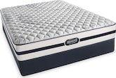 Mattresses and Bedding-Glenallen Firm King Mattress/Split Foundation Set