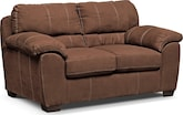 Living Room Furniture-Henson Coffee Loveseat
