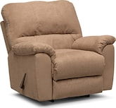 Living Room Furniture-Henson Camel Rocker Recliner