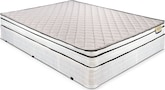 Mattresses and Bedding-Sierra Twin Mattress/Foundation Set