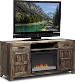 Entertainment Furniture-Hutchinson Fireplace TV Stand