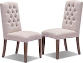 Dining Room Furniture-Emily 2-Pack Chairs