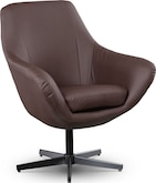 Living Room Furniture-Elton Swivel Chair
