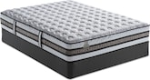 Mattresses and Bedding-The Glenhaven Firm Collection-Glenhaven Firm Queen Mattress/Foundation Set