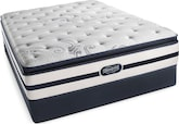 Mattresses and Bedding-Glenallen Plush PT Full Mattress/Low Profile Foundation Set