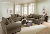 Living Room Furniture-The Strauss Olive Collection-Strauss Olive Sofa