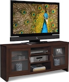 "Entertainment Furniture-The Newton III Collection-Newton III 60"" TV Stand"