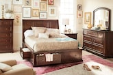 Bedroom Furniture-Copley 7 Pc. King Storage Bedroom
