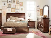 Bedroom Furniture-Copley 6 Pc. Queen Storage Bedroom