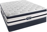 Mattresses and Bedding-Hillsdale Luxury Firm PT King Mattress/Split Foundation Set