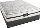 Mattresses and Bedding-Pickford Plush King Mattress/Split Foundation Set