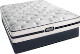 Mattresses and Bedding-Turnhill Plush Queen Mattress/Foundation Set