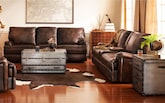 Living Room Furniture-Aldridge 2 Pc. Power Reclining Living Room