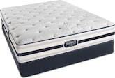 Mattresses and Bedding-Hillsdale Plush King Mattress/Split Foundation Set