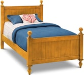 Kids Furniture-Riley Pine Twin Bed