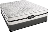 Mattresses and Bedding-Hillcrest Extra Firm Queen Mattress/Foundation Set