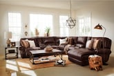 Living Room Furniture-The Delahunt Collection-Delahunt 5 Pc. Power Reclining Sectional