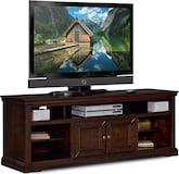 "Entertainment Furniture-The Thornton III Collection-Thornton III 70"" TV Stand"